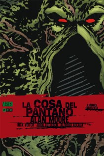 LA cosa del pantano de Alan Moore