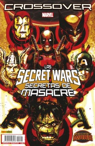 Secret wars crossover